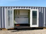 A China fez um recipiente de baixo custo casas, Banheira de venda Portable House, 20FT Kit Modular House