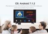 Più nuovo mini Amlogic S905W 1g contenitore di ROM Android7.1 TV di RAM 8g di Pendoo X8