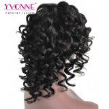 Arricciatura rimbalzante della parrucca della parte anteriore del merletto di estensione dei capelli umani di Fantasty per le donne di colore