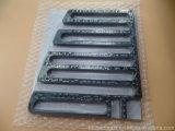 Fabbricazione spessa del nero 1.0mm di Soldermask della scheda del PWB di elettronica LED