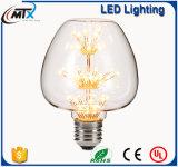 창조적인 램프 다방 훈장 점화 심혼 모양 LED 전구