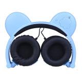 携帯電話のためのかわいいパンダの耳のヘッドホーン