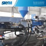 Moldeo a presión del rectángulo plástico que hace la máquina