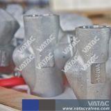 Getto o valvola di globo forgiata dell'acciaio inossidabile con il gambo aumentante