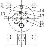 Вытекание снизу автоматическое Centriufge шабера плоской плиты Pgz