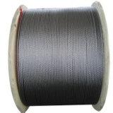 7X19 Câble en acier inoxydable 3,2 mm, corde en acier inoxydable