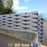 紫外線保護防水屋外の庭の機密保護のPolywoodの塀