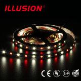 Decoração IP65 que ilumina a tira flexível do diodo emissor de luz