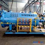 1000X1500mm horizontale Schiene-Eingehangene Kohlenstoff-Faser, die Autoklav für Laborgebrauch aushärtet