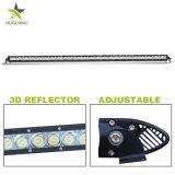 """Super Bright 6000K une seule rangée de LED 50"""" Offroad camion léger barre lumineuse à LED 240W"""