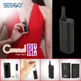 Seego 도매 기화기 펜 카트리지 Conseal PE E Cig 시동기 장비
