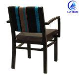 의자를 식사하는 중국 생산 판매 현대 팔걸이