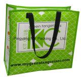Saco de plástico tecido PP para a compra
