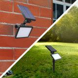 옥외 정원 벽 빛 LED 태양 스포트라이트