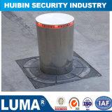 Poteau d'amarrage hydraulique automatique de l'acier inoxydable 304 avec l'éclairage LED