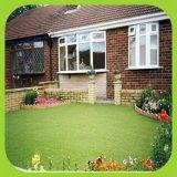 W-Form-Garten-künstlicher Gras-Einzelheizfaden-Gras-Spielplatz