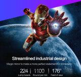 A publicidade personalizada Displayer holográfico de fotos e vídeos