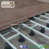 Anti placa composta plástica de madeira UV do Decking