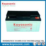 Batterie profonde solaire de cycle de la batterie 12V 65ah pour les réverbères solaires