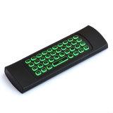 Rádio Backlit colorido do rato do ar do teclado Mx3 e do rato