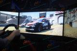 最も新しい3スクリーン6dofの硬貨によって作動させるアーケードの動きのレースカー