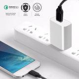 Nous blanc portable 4D'un jury à un seul port USB du chargeur de téléphone