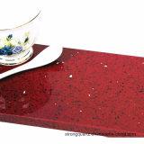 Cristal de quartzo Vermelho pedra para banheiro tampos de cozinha