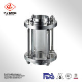 Prix serré sanitaire en verre de vue de l'acier inoxydable 304/316L