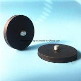 保有物のゴム製上塗を施してある鍋の磁石のための磁気ベース
