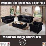 Sofà del tessuto di legno solido del commercio all'ingrosso della fabbrica della mobilia