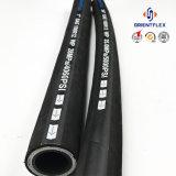 Mangueira Hidráulica de borracha SAE100 R15 Fabricantes do Duto