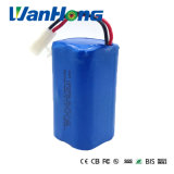 18650 bateria de lítio de 14.8V 2200mAh para a lâmpada