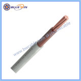 6181PP y el cable de un solo núcleo 300/500V Cable eléctrico de PVC azul o marrón cable con doble aislamiento.