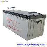 Batterie marine de gel de la batterie 12V 300ah avec de longs temps de cycle