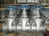 Valvola a saracinesca industriale del ghisa
