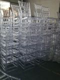 High Quality Resin Clear Chiavari Wedding Flesh for Dirty