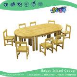 Jeu de table de combinaison de bois de la maternelle pour huit (HG-3804)
