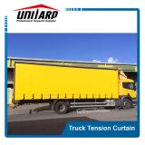 Tenda flessibile del lato del coperchio del camion del PVC con i rulli e gli inarcamenti