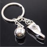 Anello di immaginazione della catena chiave di gioco del calcio del metallo