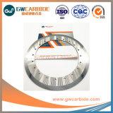 Rolete de carboneto de tungsténio cementado sólido e Anel O