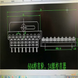 Alambre de Shangai que tuerce los fabricantes de la máquina para los rodillos de la enderezadora