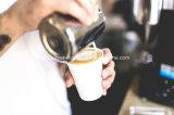 Wegwerfweiß 12 Unze-heiße Getränkecup