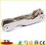 Catena chiave del metallo di buona qualità ed organizzatore di alluminio di tasto