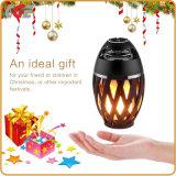 Flamme LED Lampe torche portable Bluetooth l'Orateur&le scintillement de l'atmosphère chaude lumière cadeau ampoules à LED