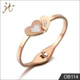 De Armband van het Hart van de Liefde van de zuster met Shell voor Meisje