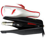 Diseño de Moda EVA Botella de vino de cuero bolsa de regalo funda con cremallera