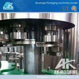 Máquina de enchimento de vidro automática da cerveja 3 in-1