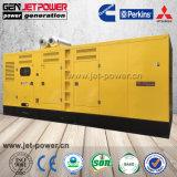 generatore diesel di potere silenzioso elettrico 500kVA con l'alternatore senza spazzola