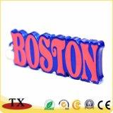 3D BRITISCHES Boston Hummer-Form-Lack-Andenken-Metallschlüsselring