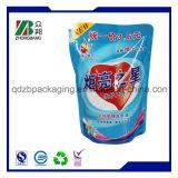 Impressão personalizada suporte plástico de embalagem de alimentos bolsa com fecho de correr